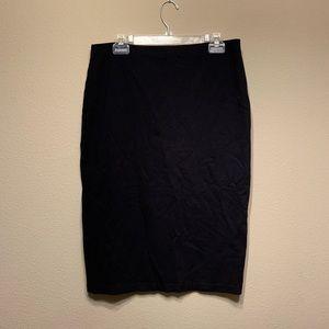5 for $25 Sanctuary midi skirt jersey black